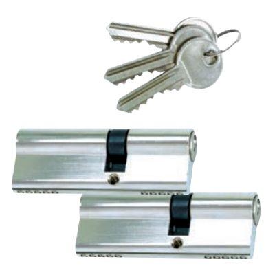 Gleichschließende Zylinder mit 3 Schlüsseln