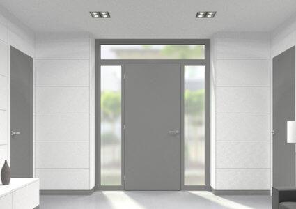 Kunststoff Seitenteil für Türen der Stärke 70 mm