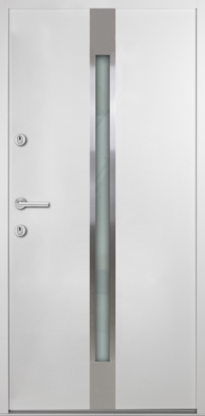 """Aluminium-Stahl Nebeneingangstür """"PALITA"""" 56 mm"""