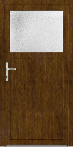 "LAGER Kunststoff Nebeneingangstür ""ANTONIA"" 70mm Golden Oak"