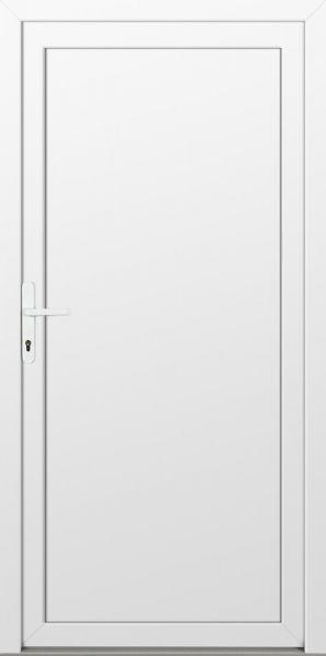 """LAGER Kunststoff Nebeneingangstür """"DIANA"""" 70mm Weiß"""