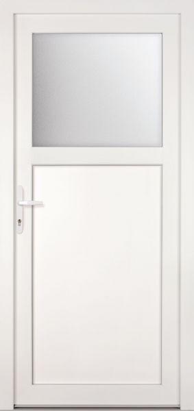 "Kunststoff-Aluminium Nebeneingangstür ""ANTONIA-M"" 74mm"
