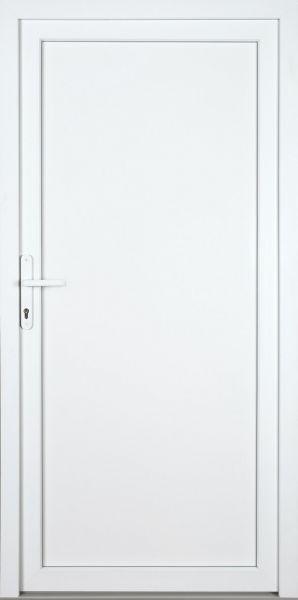 "Kunststoff Aluminium Nebeneingangstür ""DIANA-M"" 70mm"