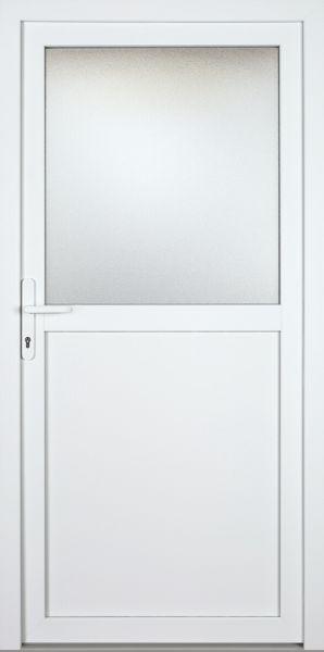 "Kunststoff-Aluminium Nebeneingangstür ""PAULA-M"" 70mm"