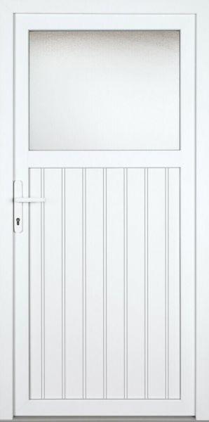 "Kunststoff Nebeneingangstür ""SANDRA"" 70mm (Auslaufmodell)"